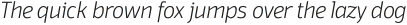 Domotika ExtraLight Italic