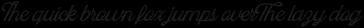 Blackstone Script Aged 1
