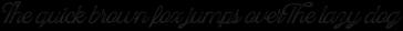 Blackstone Script Aged 2