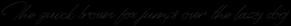 Senja Script