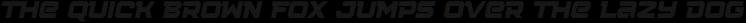 Squartiqa 4F Stripes Italic