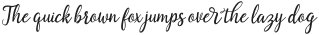 Saphira Script Slant Reguler Italic