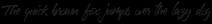 Sprightful Alternates Font