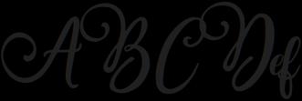 Berson Dream Script Berson Dream Script otf (400) Sample