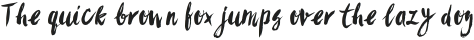 Sanös Brush Light Font