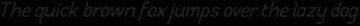 Supreme Italic