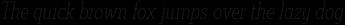 Decour Cnd Thin Italic