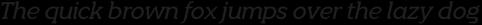 Quotus Regular Italic