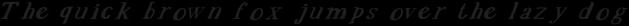 EVE SERIF Italic