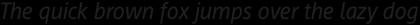 Regular Italic
