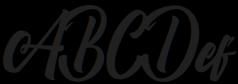 Boomerang Script otf (400) Sample