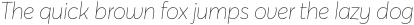 Averta Extrathin Italic