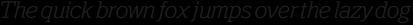 Polyphonic Light Italic