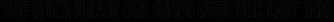 Germinabunt Outline