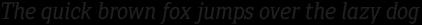 Sextan Cyr Book Italic