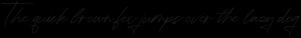 Corinthia Script