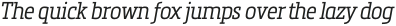 Metronic Slab Narrow Light Italic