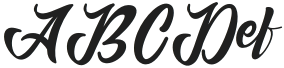Anordighos Regular otf (400) Sample