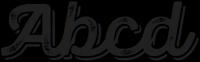Panton Rust Script Bold Grunge Shadow otf (700) Sample