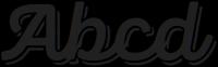 Panton Rust Script Bold Base Shadow otf (700) Sample