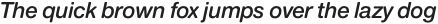 Nimbus Sans Round Semi Bold Italic