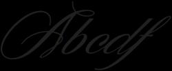Denita Script otf (400) Sample