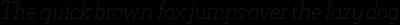 Decour Soft Thin Italic