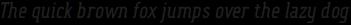 FouSerifCN Regular Italic