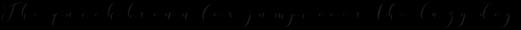 Donita Handscript Regular