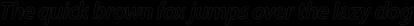 Carson Outline Medium Italic