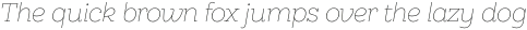 Hernandez Niu ExtraLight Italic