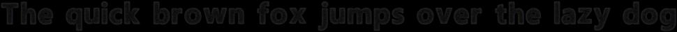 Amoky Halftone Typeface