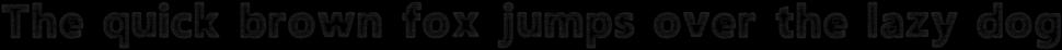 Amoky Halftone 2 Typeface
