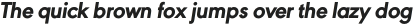 URW Geometric Extra Bold Oblique