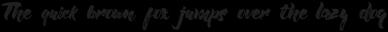 Willow Brush font Regular