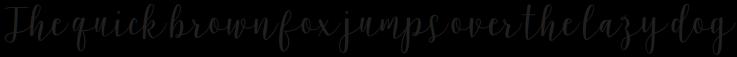 Latosha Script Bold