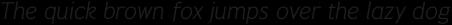 Pseudonym Light Italic