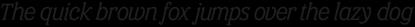 Eponymous Italic