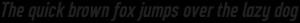 CA Geheimagent Bold Italic