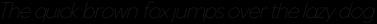 Venti CF Thin Italic