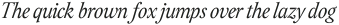 Assemblage Italic