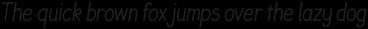 JollyGood Sans Condensed Light Italic