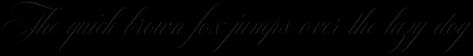 Mozart Script Thin