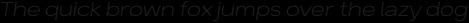 Breul Grotesk A Thin Italic