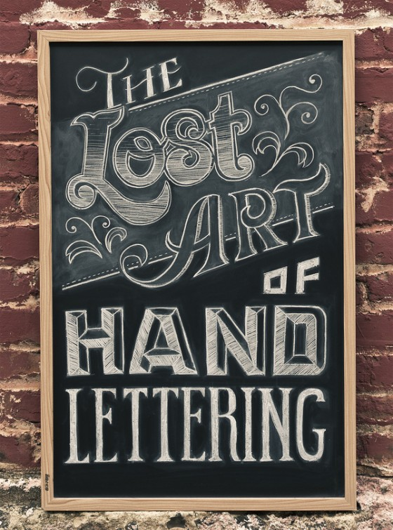 Creative Examples Of Hand Lettering Market Blog