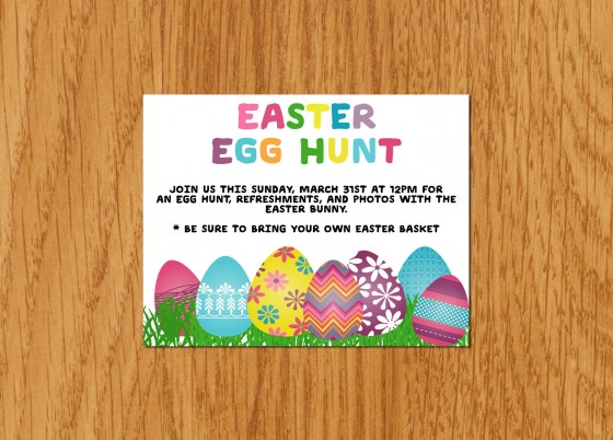 3 Simple DIY Easter Egg Hunt Flyers ~ Creative Market Blog