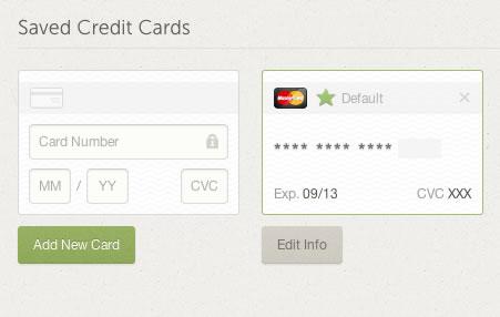 Add-Remove Credit Card