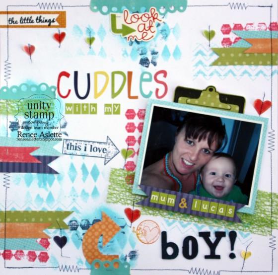 Cuddles-with-My-Boy!