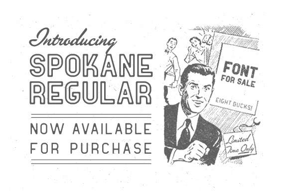 Spokane Regular by dougpenick