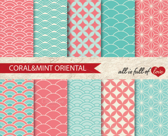 coral-mint-background-pattern-f